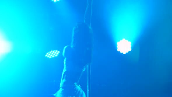 Practice of Sports Pole Dance