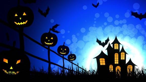 Thumbnail for Halloween Castle Pumpkins