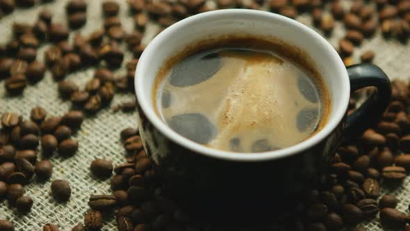 Thumbnail for Mug of Freshly Brewed Espresso