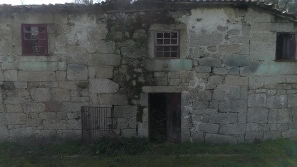 Thumbnail for Facade of Abandoned Rich House