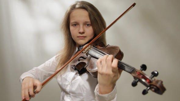 Thumbnail for Girl Playing the Violin