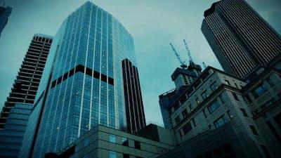 Skyscrapers in London, England, UK