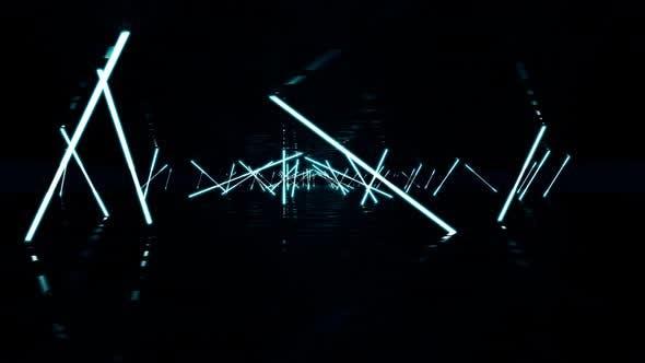 Thumbnail for VJ Background Neon Lights 4K