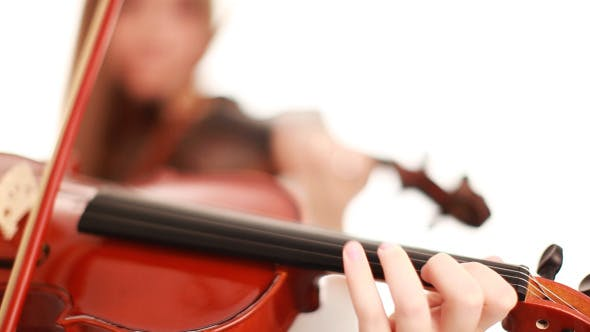 Thumbnail for Movement Of The Bow On The Strings Violin