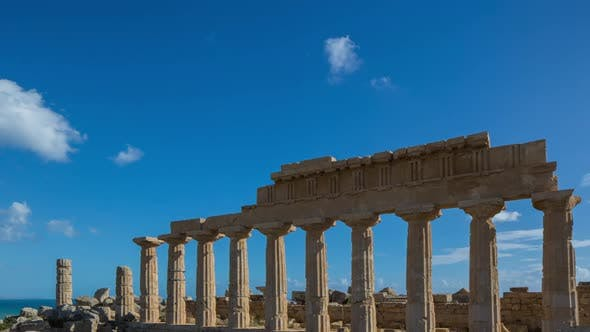 Segesta greek ruins empire sicily temple italy