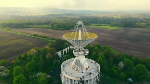 Space Exploration Using a Radio Telescope