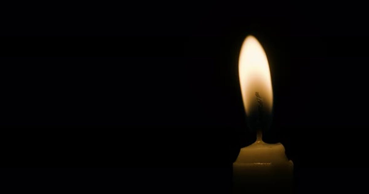 Candle Off Center Flicker