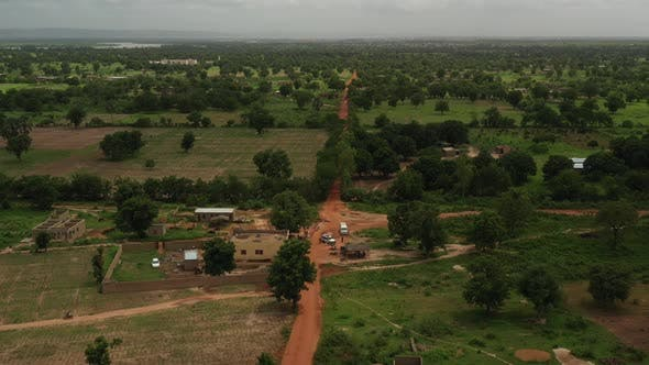 Thumbnail for Africa Mali Village Aerial View 35