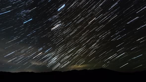 Thumbnail for Star Trails in the Night Sky