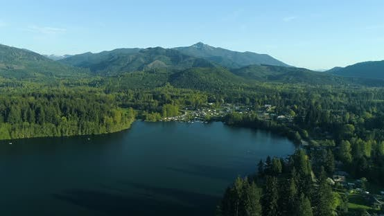 Thumbnail for Mineral Lake Washington Aerial View