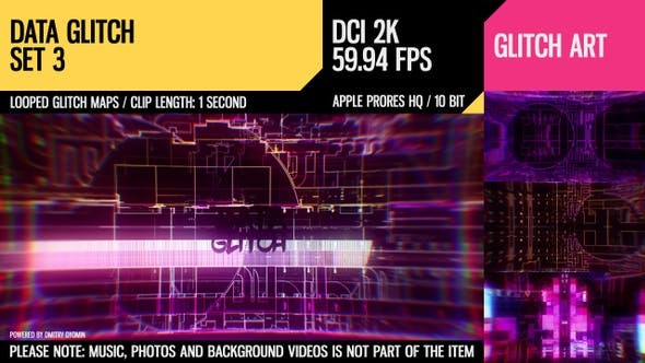 Thumbnail for Data Glitch (2K Set 3)