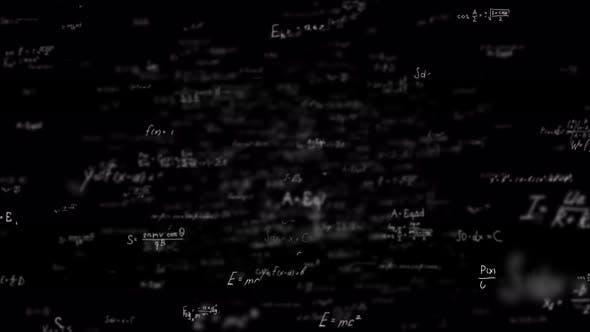 Physics Formulas Background