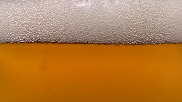 Thumbnail for Beer Glass Foam Bubbles