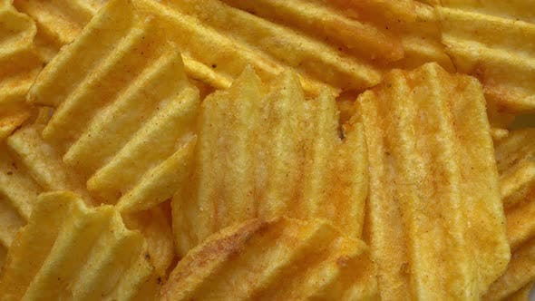 Thumbnail for Rotation Fluted Potato Chips With Spices