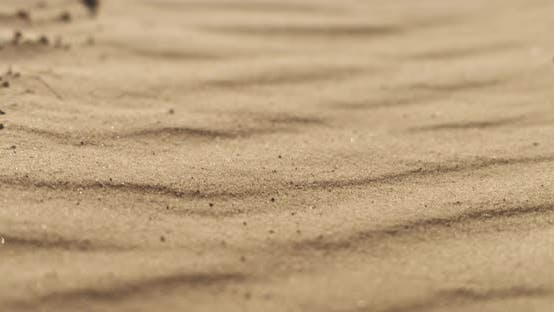 Thumbnail for Sand dunes, shot with Blackmagic Pocket 4K - cinematic closeup slow motion