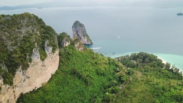 Thumbnail for Aerial View of Tropical Poda Island, Thailand