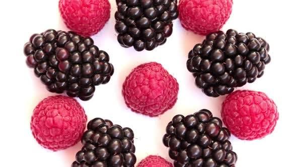 Thumbnail for Rotating Raspberries And Blackberries 1