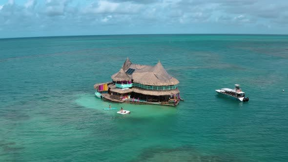 Thumbnail for Casa En El Agua, House on Water in San Bernardo Islands, on Colombia's Caribbean Coast