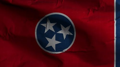 Tennessee State Flag 4K