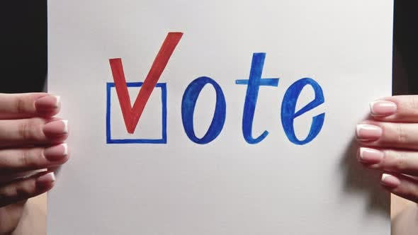 Thumbnail for Vote Sign Democracy Liberty