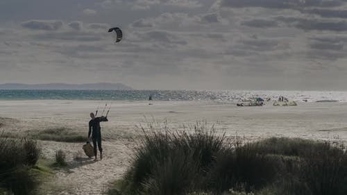 Kitesurf Tarifa, andalusien Spanien