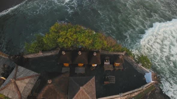 Thumbnail for Hindu Temple on the Island Tanah Lot Bali,Indonesia