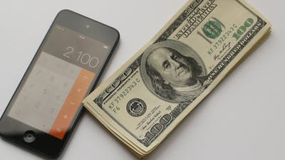 Dollar And Calculator