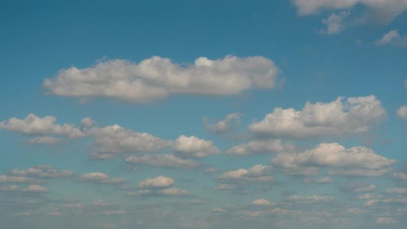 Timelapse of clouds
