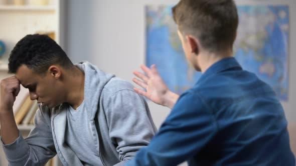 Teenagers Quarreling