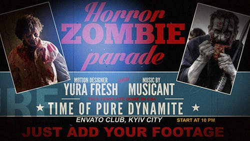 Horror Zombie Parade