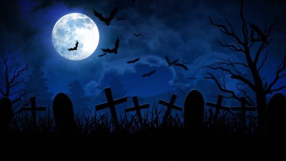 Thumbnail for Halloween Cemetery