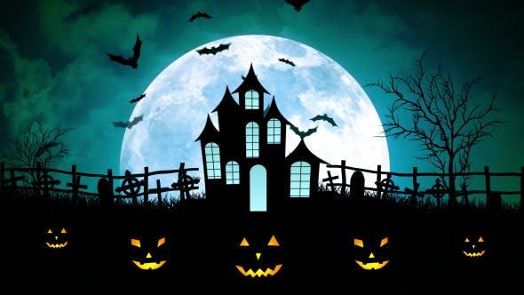 Thumbnail for Halloween Castle Cemetery