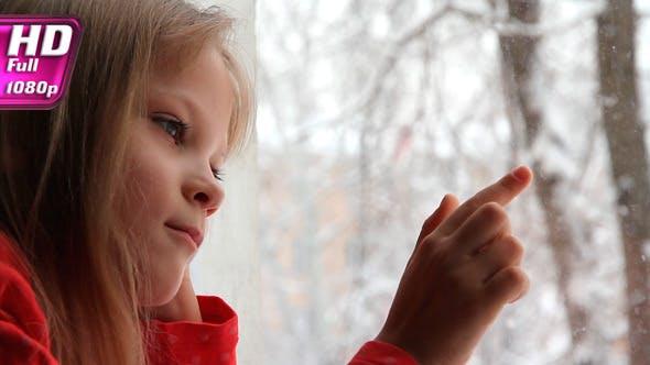 Thumbnail for Girl and Snowfall