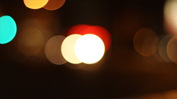 Thumbnail for Night Traffic Circles Bokeh