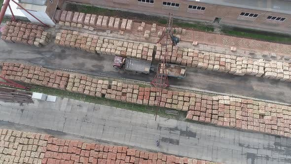 Thumbnail for Brick factory seen from above