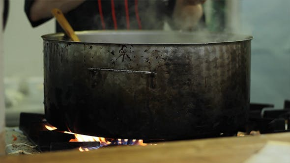 Thumbnail for Cooking in a Large Pan