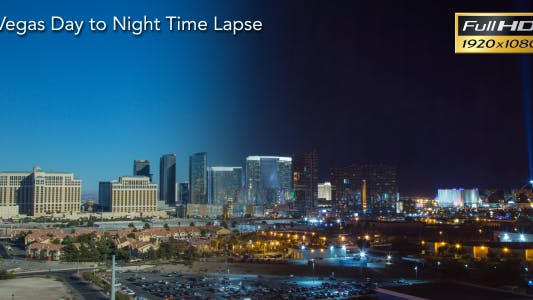 Cover Image for Vegas Day to Night Time Lapse