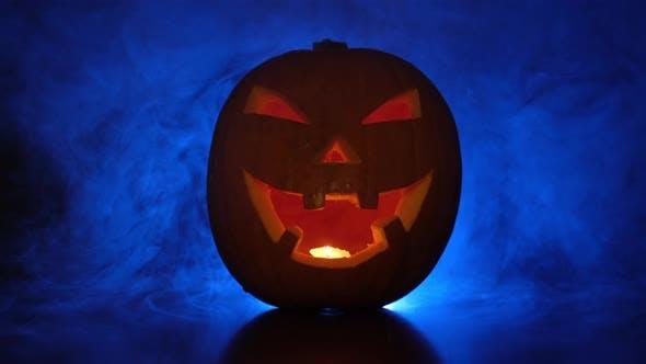 Thumbnail for Halloween Pumpkin and Fog