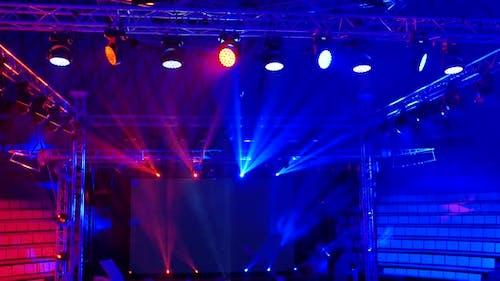 Scène de lumière de scène 5