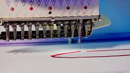 Modern and Automatic High Technology Sewing Machine for Textile