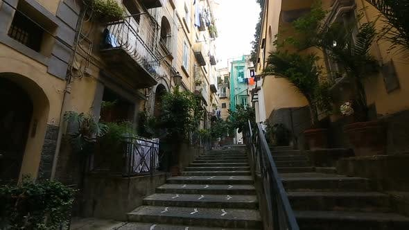 Thumbnail for Bright and green residential district in center of Naples, cheap rental housing