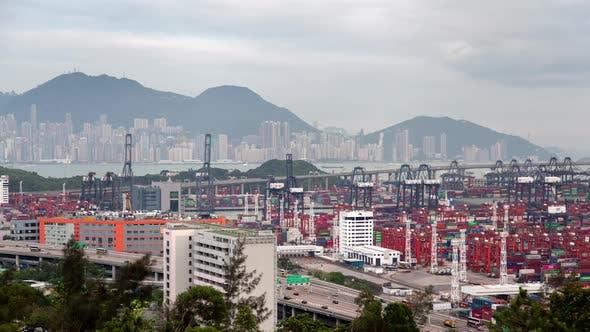 Thumbnail for Container Terminal Modern Hong Kong