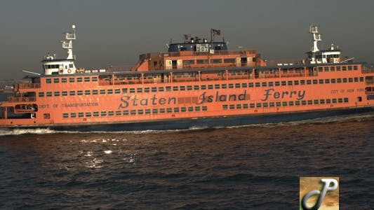 Thumbnail for Staten Island Ferry in New York Harbor
