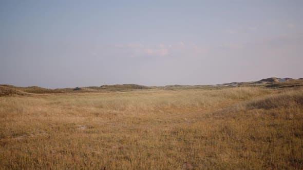 Thumbnail for Wide Shot of Dry Barren Hills