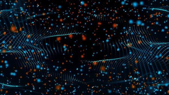 Multi Colored Particles