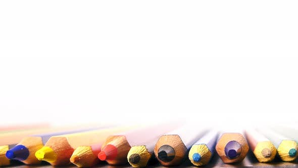 Thumbnail for School Education Tools Colorful Pencils 2