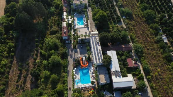 Thumbnail for Aerial View Golden Sun Hotel Beldibi Village, Turkey