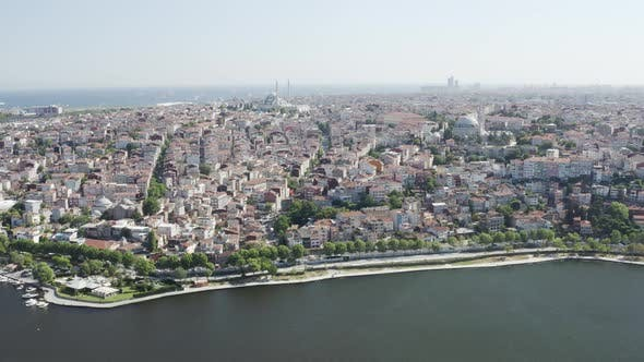 Thumbnail for City And Buildings Aerial View