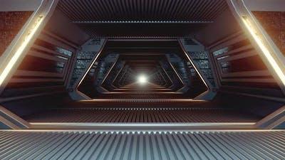 Sci Fi Corridor Loop