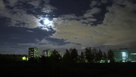 Thumbnail for Night City Time Lapse
